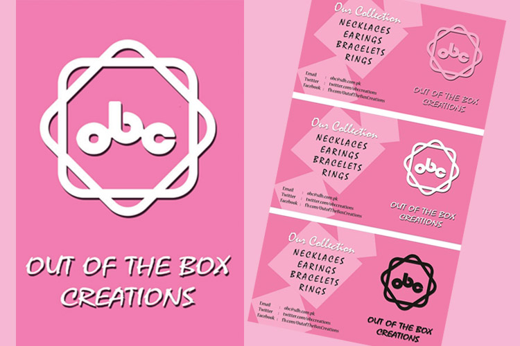 Business Cards for Out of the Box Creations
